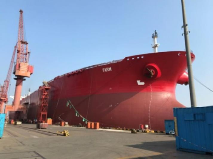 World Carrier - FSO Farm completed conversion and sailed from China